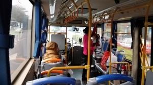 世界の窓駅からB681バスで欧州城