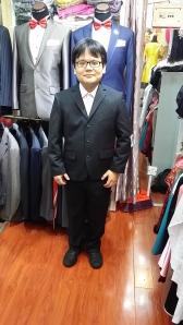 スーツ試着
