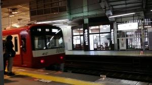 品川駅から京急に乗って川崎へ