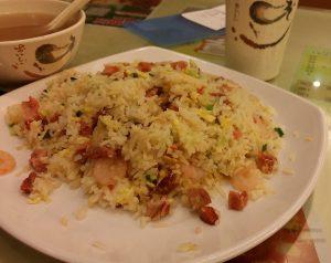 茶餐廳料理の例:揚州炒飯