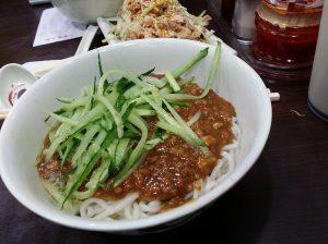 炸醤麺@山東餃子館