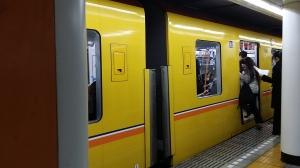 本日2度目の黄色い銀座線