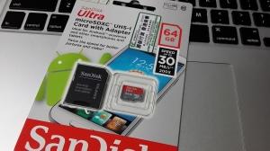 本日の戦利品 MicroSDXC 64GB @ 深水埗