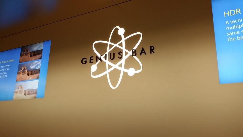 Genius Bar @ Apple Store Kowloon Tong