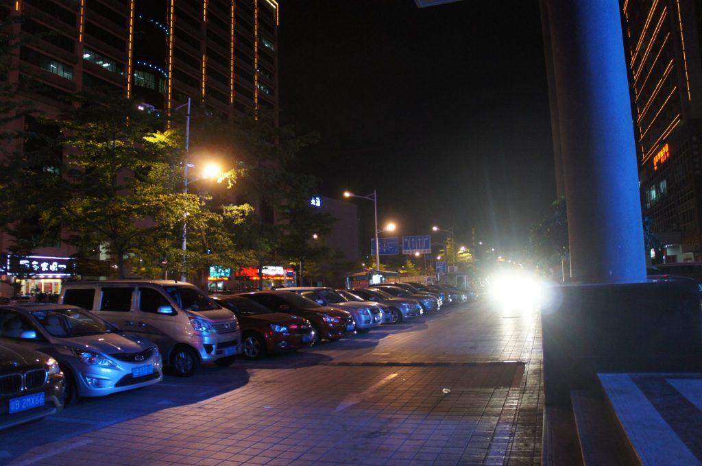 深圳民治の夜