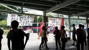 2014年9月24日の大学駅前