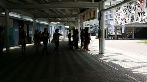2014年9月29日の大学駅前