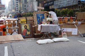 彌敦道の南端にはキリスト?
