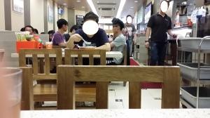 九龍城海景粥店 店内の風景