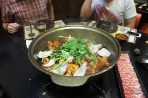 鶏の麻辣香鍋