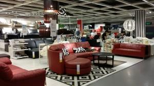 深圳IKEAの家具売り場