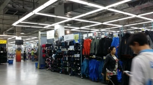 Decathlon 店内