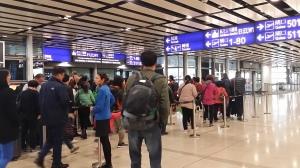 香港空港到着は北サテライト