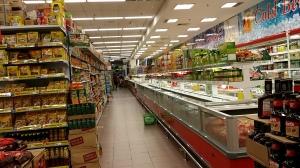 食料品売場