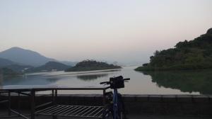 南涌天后廟からの景色