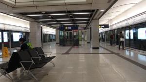 香港大学站 ホーム