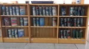 深圳図書館 定期刊行誌のコーナー