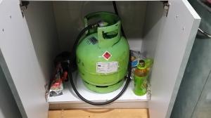 新しいガスタンク